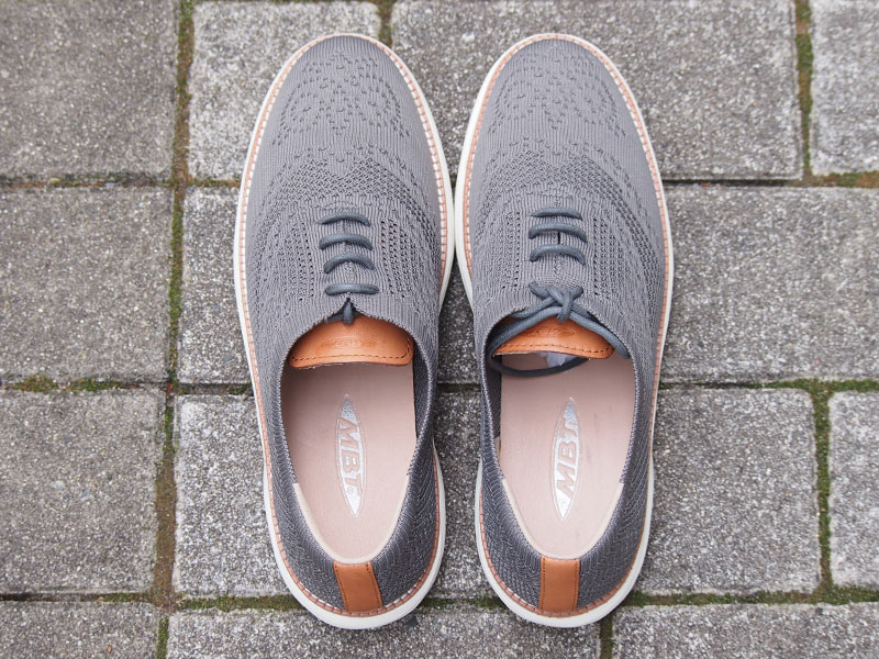 MBT BOSTON WT M-KNIT W-TAUPE GRAY